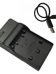 キヤノンNB-2リットルEOS 350D 400D G7 G9 S80 mvx200i mvx330iための2リットルマイクロUSBモバイルカメラのバッテリー充電器