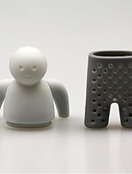 Недорогие -силиконовый человеческий чай инфузионный лист страунер травяной помадка пряный фильтр мешок