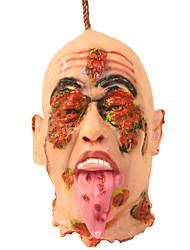 1pc cuore persona cranico testa a sfera di Halloween per la decorazione del partito
