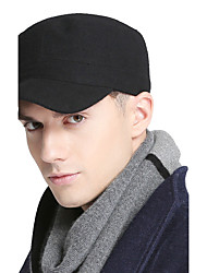 cheap -Men women summer Casual outdoor breathable military cap fla Outdoor Solid color sun peaked cap