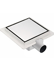 Drain Contemporary Stainless Steel 118mm 210mm Embedded