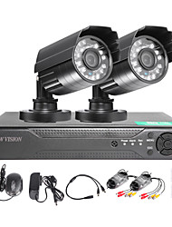 cheap -TWVISION® 4CH HDMI 960H CCTV DVR Surveillance Recorder 1000TVL Outdoor Waterproof Cameras CCTV System