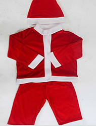 Santa Claus Costume Clothes Children Christmas Costumes Show 100-110Cm