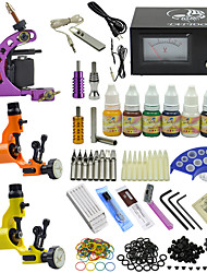 cheap -OPHIR 350pcs Pro Tattoo Kit 3 Tatoo Machine with 7 Pigment 10ml/Bottle