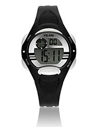 Vilam Enfant Montre de Sport Montre Bracelet Montre Tendance Montre numérique Numérique Calendrier Etanche LCD Chronomètre Plastique Bande