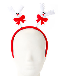 cheap -1 Pc Sponge Elk Design Hair Hoop Christmas Ornament Party Supply