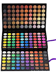 cheap -180 Eyeshadow Palette Matte / Shimmer Eyeshadow palette Cream Large Daily Makeup