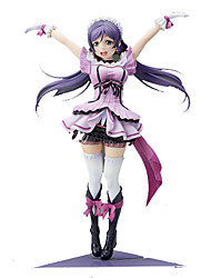 cheap -1/8 Love Live Electric Shock Nozomi Tj PVC 20cm Anime Action Figures Model Toys Doll Toy