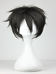 cheap -Promotion New Sword Art Online Kiritani Black 32cm Short Synthetic Man Cosplay Wigs
