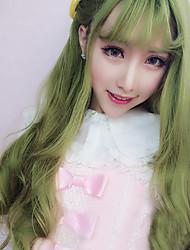Parrucche lolita Dolce Lolita Parrucche Lolita 70 CM Parrucche Cosplay Tinta unita Parrucche Per