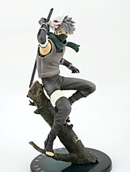 cheap -Anime Action Figures Inspired by Naruto Hatake Kakashi PVC 24cm CM Model Toys Doll Toy