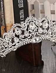 baratos -peça de tiaras de liga de strass elegante estilo feminino clássico