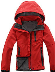 cheap -Women's Hiking Softshell Jacket Outdoor Winter Waterproof, Thermal / Warm, Windproof Softshell Jacket Camping / Hiking / Breathable