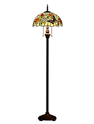 Tiffany Floor Lamp with 2 Lights