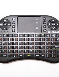 Недорогие -русский беспроводная клавиатура 500 AC мышь воздуха дистанционного управления летяги