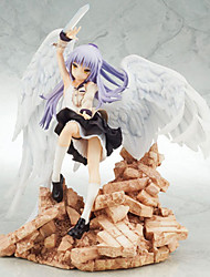 cheap -Angel Beats Kanade Tachibana PVC 22cm Anime Action Figures Model Toys Doll Toy 1pc
