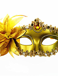 1PC a máscara do partido da princesa para o dia das bruxas traje do partido cor aleatória