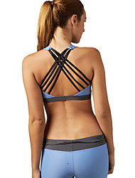Women's Sexy Sports Bra Wireless Back Cross Underwear Fitness Running Yoga Tops