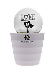 romantica camera da letto lampadina led romantica di piante in vaso lampada ricaricabile luce di notte per bambini regali