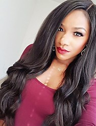 8 to 22 inches Brazilian Human Hair Loose Body Wave Wigs 4.5 Deep Part Glueless Lace Front Wigs For Black Women