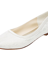 cheap -Women's Flats Spring / Summer Others Stretch Satin Wedding / Party & Evening / Dress Flat Heel Others Ivory Others