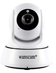 cheap -WANSCAM 1.0 MP Indoor with IR-cut 64G(Day Night Motion Detection Dual Stream Remote Access Plug and play Wi-Fi Protected Setup) IP Camera