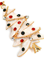 Women's Brooches Chrismas Imitation Diamond Jewelry For Daily Casual