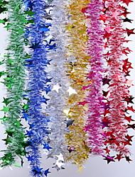 Christmas Decorative Ribbons 6 Pcs