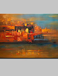 cheap -Hand Painted Modern Abstract Oil Painting On Canvas Wall Art Pictures For Living Room Home Decoration Ready To Hang