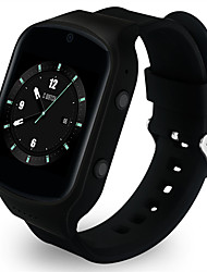 Android 5.1 1.54 inch 2.5D Arc Screen 3G Smartwatch Phone MTK6580 Quad Core 1.3GHz 512MB RAM 4GB ROM Pedometer Hearth Rate Measurement 2.0MP Camera