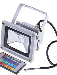 Недорогие -2200LM 85-265 / 12-24 20w красочные RGB инфракрасный пульт дистанционного управления пейзаж лампа