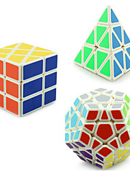 cheap -Rubik's Cube YONG JUN Pyramid Alien Megaminx 3*3*3 Smooth Speed Cube Magic Cube Puzzle Cube Professional Level Speed Gift Classic &