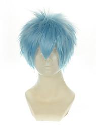 Donna Parrucche sintetiche Senza tappo Lisci Blu Parrucca Cosplay Parrucca di Halloween Parrucca di carnevale costumi parrucche