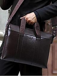 Men PU Office & Career Briefcase