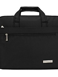 Men Nylon Office & Career Laptop Bag Black