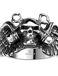 Pánské Prsten Módní bižuterie Nerez Titanová ocel Skull shape Šperky Pro Halloween Denní Ležérní Sport