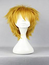 economico -Donna Parrucche sintetiche Senza tappo Riccio Biondo dorato Parrucca Cosplay Parrucca di Halloween Parrucca di carnevale costumi parrucche