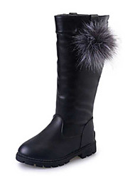 cheap -Girl's Boots Spring / Fall / Winter Snow Boots / Motorcycle Boots / Bootie / Comfort Leather Outdoor / Casual Slip-on