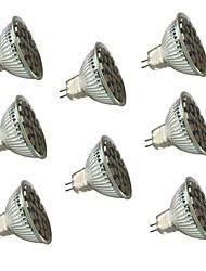 GU5.3(MR16) LED Spotlight MR16 27 SMD 5050 450 lm Warm White Cold White 3000/6000 K Dimmable Decorative V