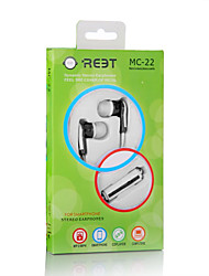 Lovely cute MC-22 High Quality Fashion Design Earphone with Mic Remote for all mobile phone For xiaomi mp4 mp3