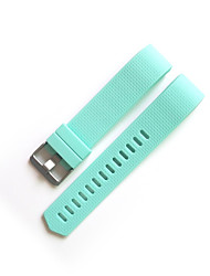 Silicone Replacement Watch Wrist Strap Band for Fitbit Charge 2 (No tracker including)