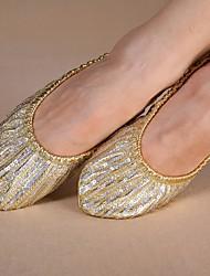 economico -Per donna Scarpe per danza moderna Di corda Ballerine Piatto Non personalizzabile Scarpe da ballo Dorato / Da allenamento