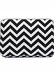 "Sleeve for Macbook 13"" Macbook Air 11""/13"" Macbook Pro 13""/15"" MacBook Pro 13""/15"" with Retina display Waves Canvas Material Waves Design Shockproof"