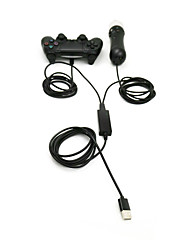 abordables -USB Adaptador y Cable para Sony PS3 PS4 Sony PS4 Recargable Con cable #