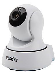 VESKYS® T4 720P 1.0MP Wi-Fi Security IP Camera(Day Night / Motion Detection / Remote Access / IR-cut / Plug and play)