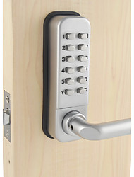 Waterproof Lever Handle Mechanical Combination Lockey Digital Numberal Deadbolt Door Coded Lock