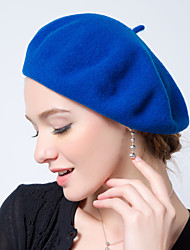 cheap -Women's Vintage / Work Wool Beret Hat - Solid Colored