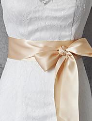 economico -festa di nozze in raso / abiti da sera per la vita quotidiana teli da donna strass elegante stile classico