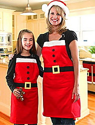 cheap -Christmas Decorations Christmas Commodity Christmas Apron Family Christmas Party Supplies