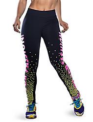 economico -le donne stampano legging, poliestere medium fashion fashion slim chic